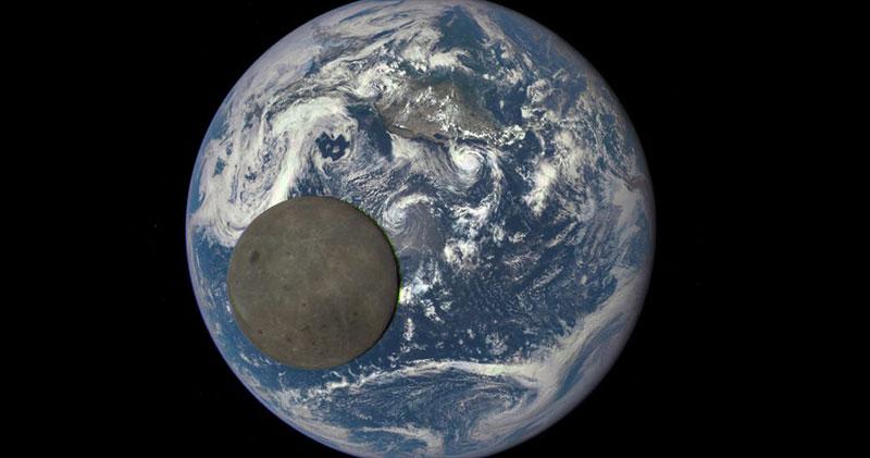 tamanho da lua